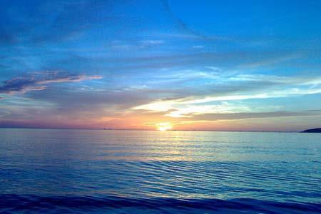 van mau ta canh bien buoi sang - Viết đoạn văn ngắn tả cảnh biển buổi sáng