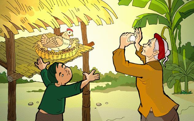 phat bieu cam nghi bai tieng ga trua - Phát biểu cảm nghĩ về bài thơ Tiếng Gà Trưa
