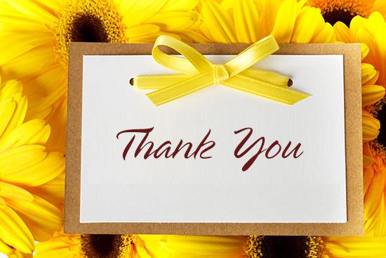 Suy nghĩ về lời cảm ơn trong cuộc sống