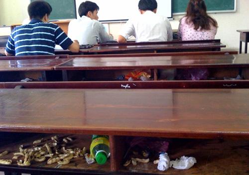 suy nghi cua em ve hien tuong xa rac trong truong hoc - Suy nghĩ về hiện tượng xả rác trong trường học