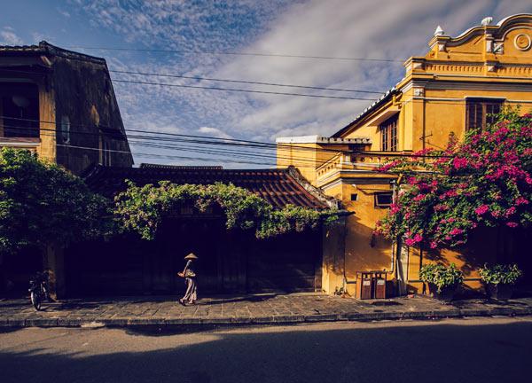 Tả cảnh buổi sáng trên đường phố