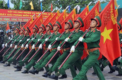 Kể về cuộc gặp gỡ với các anh bộ đội nhân ngày thành lập Quân dội nhân dân Việt Nam (22/12)