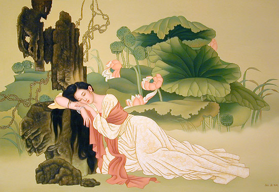 Phân tích bài thơ Tự Tình 2 của tác giả Hồ Xuân Hương