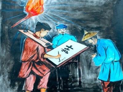 Phân tích hình tượng nhân vật Huấn Cao trong Chữ người tử tù của nhà văn Nguyễn Tuân