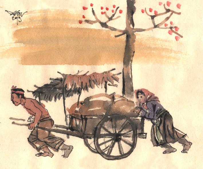 Phân tích nhân vật Tràng trong truyện ngắn Vợ Nhặt của nhà văn Kim Lân