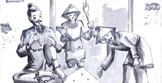 """Phân tích thái độ của nhân vật Huấn Cao đối với viên quản ngục trong tác phẩm """"Chữ người tử tù"""" của Nguyễn Tuân"""